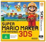 [3DS] Super Mario Maker, Super Mario 3D, Donkey Kong Country Returns, The Legend of Zelda, Kirby & More $25ea @ Big W