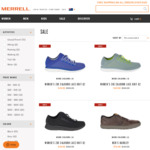 Up to 50% off Sale and Additional 10% off Sitewide + Free Delivery with Shipster over $100 @ Merrel Australia