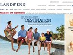 Land's End (US) 25% off Everything Including Clearance Items