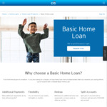 Citibank Basic Variable Home Loan 3.55% (CR 3.60%), Mortgage Plus W/ Offset 3.63% (CR 3.98%)