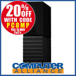 WD My Book 8TB External HDD $239.20 + $15 P&H (Free with eBay Plus) @ Computer Alliance eBay [AU Stock]