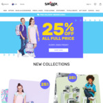 25% off All Full Priced Items + Delivery (Free with Order over $100) @ Smiggle
