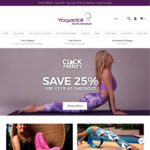 Click Frenzy Sale - 25% off Sitewide @ Yogadoll Activewear