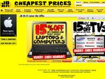 JB Hi-Fi - 15% off TV's and PC's till Monday (Some Exclusions, See below for Details)