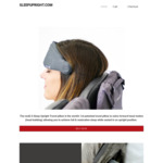 Nod 2.0 Travel Pillow from Zdoze US $40 for 2, US $45 for 3 (RRP US $40ea) @ Sleep Upright