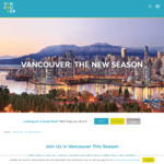 Win a Holiday in Vancouver for 2 Worth $5,500 from Tourism Vancouver