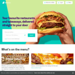 Win Deliveroo for a Year Every Day for The Next Twelve Weeks