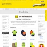 10% off all Hi Vis Wear, Work Wear Uniforms Online @ The Uniform Guys