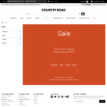 Take a Further 30% off Sale Items + Delivery (or Free C&C) @ Country Road
