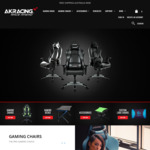 5% off Gaming Chairs/Office Chairs (Excludes K7 Series & Accessories) @ AK Racing Australia