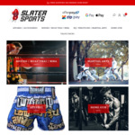 20% off Site Wide - Boxing, MMA, Muay Thai, Karate Apparel and Equipment (Free Postage over $100 Spend) @ Slater Sports