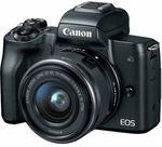 Canon EOS M50 15-45MM Single Lens Kit $676 Delivered @ Camera Store Australia eBay