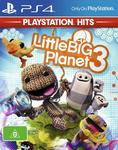 [PS4] LittleBigPlanet 3 Hits $10 + Delivery ($0 with Prime/ $39 Spend) @ Amazon AU