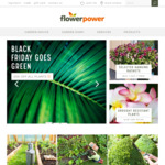 [NSW] Black Friday 20% of All Plants in Stores @ Flower Power