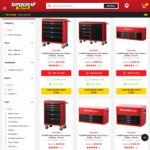 50% off Toolpro Edge Chests and Trolleys (4 Drawer, 28 Inch $184.50, Was $399) @ Supercheap Auto