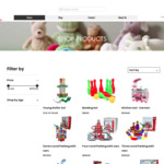 50% off Storewide + $9.95 Delivery @ Big Brain Toys