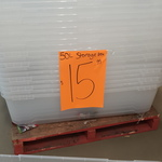 [NSW] Ezy Storage 163L Christmas Tree Box $15.99 @ Bunnings, West Hoxton