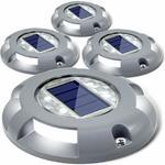 20% off (4 Pack Siedinlar Solar Dock Driveway Lights, from $44.68 Delivered) @ JINXI Amazon AU
