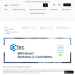 C-Tec Smart Wi-Fi Switches Works with Siri from $98 Delivered (10% off w/ Coupon Code) Free Shipping @ Lectory.com.au