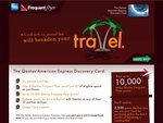 AMEX Qantas Frequent Flyer Credit Card (up to 10000 Bonus Points)