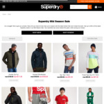 Up to 60% off 2xPac Underwear $23.20 Vintage Logo T $31.20 Denim/Overhead Jacket $39.20 + $7.95 delivery/Free With $50 @Superdry