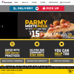 50% off Large Premium & Traditional Pizza (Delivery Only, Min Spend $22) @ Domino's (Selected Stores)