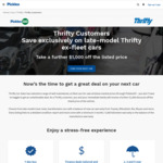 Thrifty Customers Save $1000 on Used Cars @ Pickles