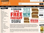 Free Shipping from Brotherhood Books for All of October (Online Second Hand Books)