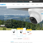 Reolink RLC-522 5MP PoE Dome Security Camera 3X Optical Zoom Built-in Micro SD Card Slot US$68.84 (~A$99.24) @ Reolink