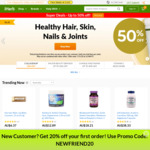 20% off iHerb - New Customers Only