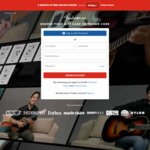 3-Months Free Online Lessons for Guitar, Bass, Ukulele @ Fender (Normally $10-month)