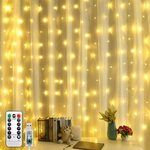 Curtain String Lights, 304 LED USB Powered, 8 Modes $24.49 + Delivery ($0 with Prime / $39 Spend) @ WeteckCity Amazon AU