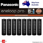 Panasonic Eneloop Pro AA / AAA 8pk $39.95 Delivered @ Shopping Square