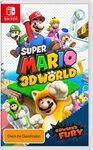 [Switch, Pre Order] Super Mario 3D World + Bowser's Fury $69 Delivered @ Amazon AU