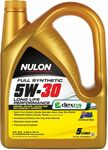 Nulon Full Synthetic 5W-30 Long Life Performance Engine Oil 5L $29 @ Repco
