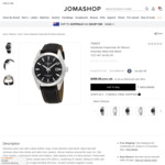 Tissot Gentleman Powermatic 80 Silicium Automatic Watch US$544.90 (~A$760) Delivered, Including Tax @ Jomashop