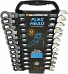 GearWrench 12pc Flex Ratcheting Metric Wrench $123.51, Non-Flex $75.54 + Delivery (Free with Prime) @ Amazon UK via AU