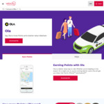 Earn 1000 Velocity Points for You First Ola Ride