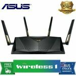 [Afterpay, eBay Plus] ASUS RT-AX88U AX6000 Dual Band 802.11ax Wi-Fi 6 Router $429.44 Delivered @ Wireless1 eBay
