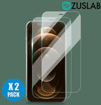 Buy 1 Get 1 at 20% off - 2 Pcs Tempered Glass Screen Protector for Full Range iPhone $4.48 Delivered @ Zuslab eBay
