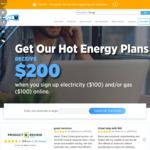[NSW, VIC, QLD, SA] Up to $200 Credit for Electricity and Gas Supplies & Free Rewards Membership @ CovaU Energy