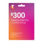 Telstra $300 Pre-Paid SIM Starter Kit 365 Days 150GB Data - $250 Delivered @ Telstra