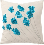 Blue Blossom Cushion $22 (Was $53) Delivered @ Brooklyn Lighting