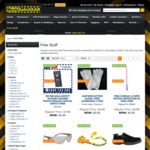 Free 3M Safety Specs, 3M Earplug, Helmets and Boots & More Clearance Items + Delivery @ WorkSafeGEAR