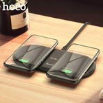 HOCO CW23 10W Dual Qi Wireless Charger US$11.29 (~A$15.38) Delivered @ HOCO Official Store AliExpress