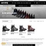 Hype DC Friends & Family 30% off Sale: RM Williams Comfort Adelaide Boot $416.50 Delivered @ Hype DC