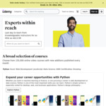 70+ $0 Udemy Courses: Agile, Python, Adobe Premiere Pro, Excel, Illustrator, Facebook Ads, SEO & More
