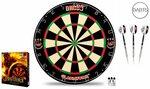 ONE80 One80 Gladiator 2+ Premium Bladed Dartboard & Tungsten Spark Darts Set $114.99 Delivered (Was $159.99) @ Darts Direct