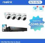 Reolink RLK8-820D4-A 4K NVR Kit US$405, RLK8-520D4-A US$314, RLK8-520D4 US$282.33 Delivered @ Reolink AliExpress