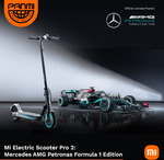Xiaomi Mi Electric Scooter Pro 2 (Mercedes AMG Petronas F1 Team Edition) for $799 (RRP $1499) + Free Shipping @ Panmi